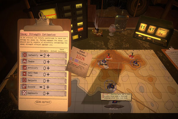 WWII strategy game